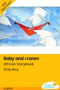 Baby and cranes