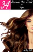34 Homemade Hair Tricks & Tips