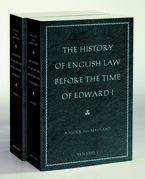 The History of English Law before the Time of Edward I: In Two Volumes