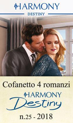 Cofanetto 4 romanzi Harmony Destiny - 25