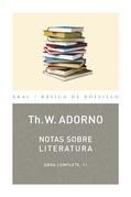 Nota sobre Literatura