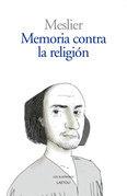 Memoria contra la religión