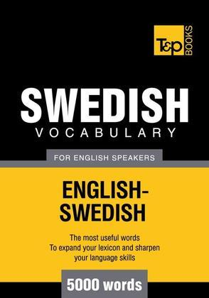 T&p English-Swedish Vocabulary 5000 Words