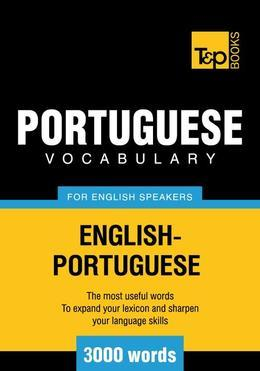 T&amp;P English-Portuguese vocabulary 3000 words