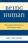 Being Human: Philosophical Reflections on Psychological Issues