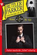 Butler Parker 153 – Kriminalroman