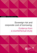EIB Working Papers 2018/05 - Sovereign risk and corporate cost of borrowing: Evidence from a counterfactual study