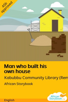 Man Who Built His Own House