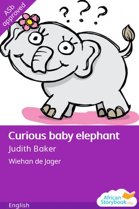 Curious Baby Elephant