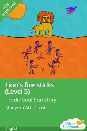 Lion's Fire Sticks (Level 5)