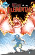 Ray Harryhausen Presents: War of the Elementals #2