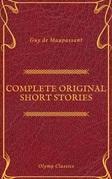 Guy De Maupassant: Complete Original Short Stories (Feathers Classics)