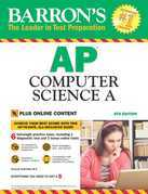 Barron's AP Computer Science A With Bonus Online Tests, 8th edition
