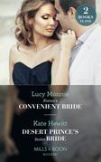 Kostas's Convenient Bride: Kostas's Convenient Bride / Desert Prince's Stolen Bride (Conveniently Wed!) (Mills & Boon Modern)
