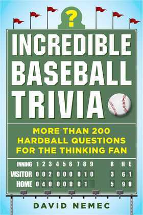 Incredible Baseball Trivia