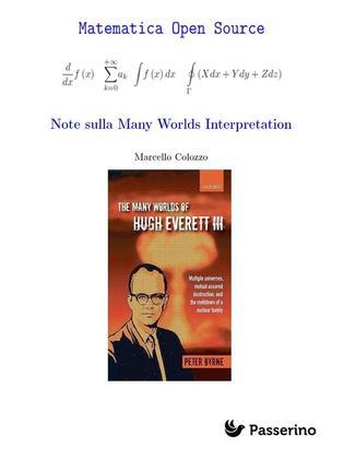 Note sulla Many Worlds Interpretation