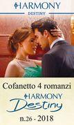 Cofanetto 4 romanzi Harmony Destiny - 26