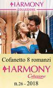 Cofanetto 8 romanzi Harmony Collezione - 26