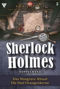 Sherlock Holmes Doppelband 2 – Kriminalroman
