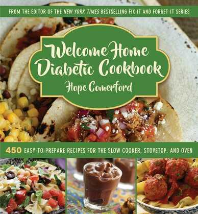 Welcome Home Diabetic Cookbook