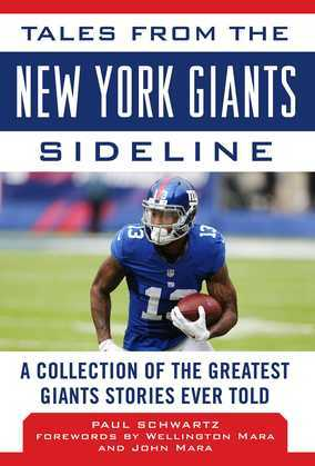 Tales from the New York Giants Sideline