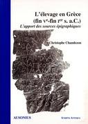 L'élevage en Grèce (fin ve-fin ie s. a.C.)