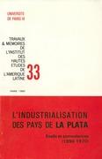 L'industrialisation des pays de la Plata