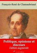 Politique, opinions et discours | Edition intégrale et augmentée