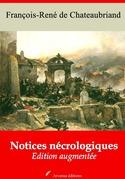 Notices nécrologiques | Edition intégrale et augmentée