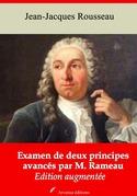 Examen de deux principes avancés par M. Rameau | Edition intégrale et augmentée
