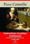 Instructions et prières chrétiennes | Edition intégrale et augmentée