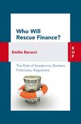 Who Will Rescue Finance?