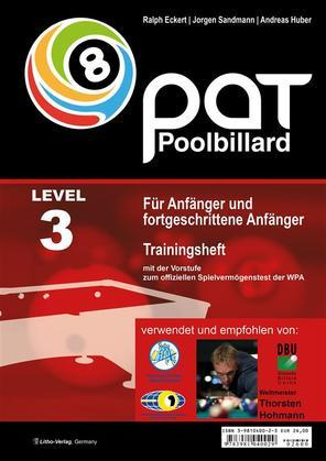 PAT Pool Billard Trainingsheft Level 3