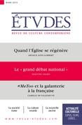 """Revue Etudes : le """"grand débat national"""""""