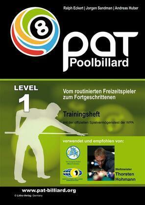 PAT Pool Billard Trainingsheft Stufe 1
