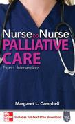 Nurse to Nurse Palliative Care: Palliative Care