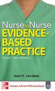 Nurse to Nurse Evidence-Based Practice