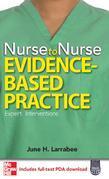 Nurse to Nurse, Evidence-Based Practice