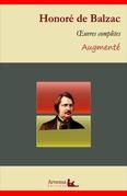 Honoré de Balzac : Oeuvres complètes et annexes (annotées,illustrées)