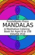 PuzzleBooks Press Mandalas - Volume 10