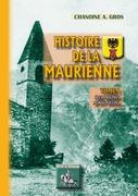 Histoire de la Maurienne (Tome Ier)