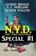 N.Y.D. - Special #1: Vier Krimis (New York Detectives)