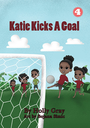 Katie Kicks a Goal