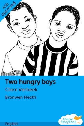 Two hungry boys