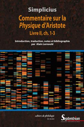 Commentaire sur la Physique d'Aristote. LivreII, ch.1-3