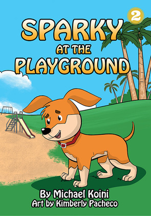 Sparky at the Playground