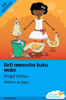 Refi awaosha kuku wake