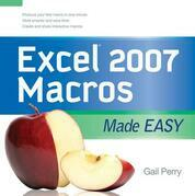 EXCEL 2007 MACROS MADE EASY