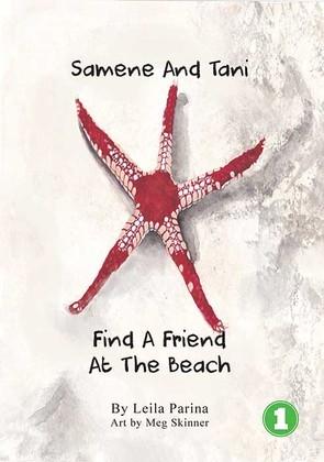 Samene and Tani Find a Friend at the Beach