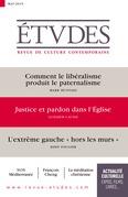 Revue Etudes : Justice et pardon dans l'Eglise